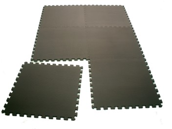 Gym mat Black